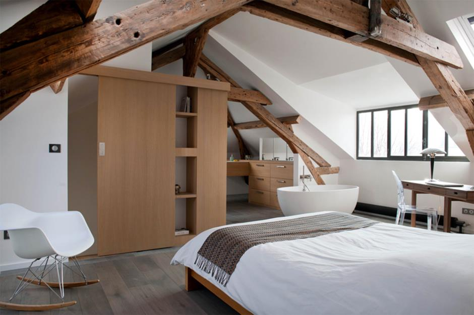 Open ensuite & 29 inspired ideas for attic bedrooms | loveproperty.com