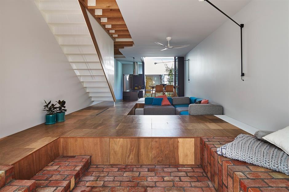 l shaped small hall interior design walls