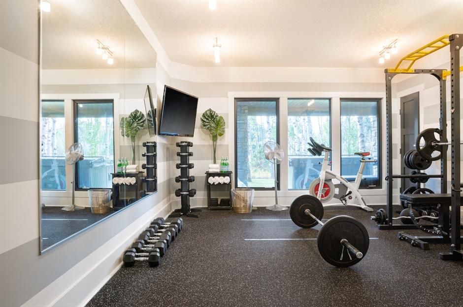 Workout Rooms To Inspire Your Home Gym
