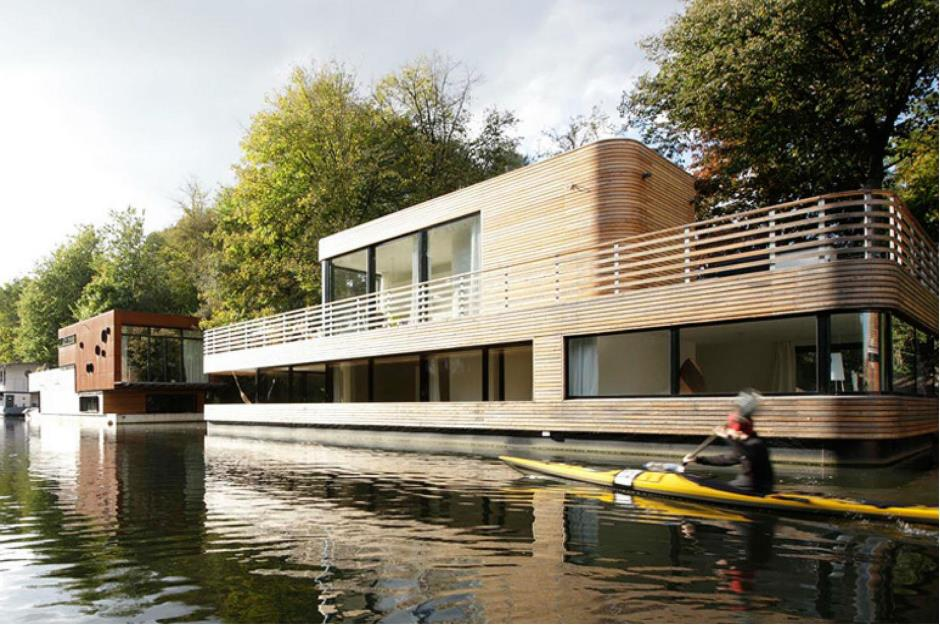 Eight Of The Worlds Most Incredible Houseboats Loveproperty