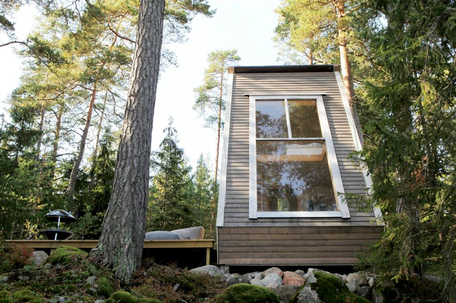 Tiny Cabins In The Woods To Escape The Rat Race