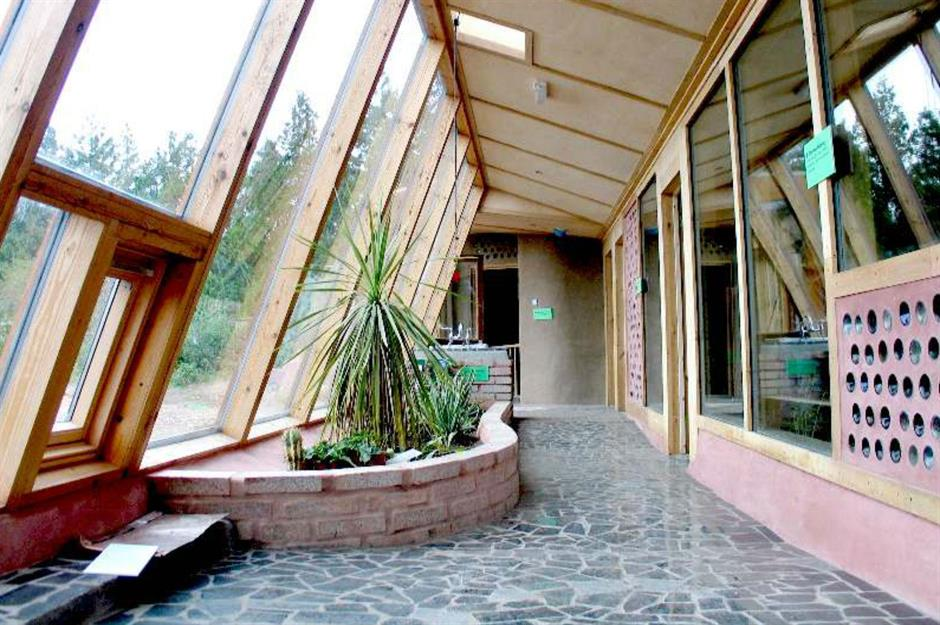 Incredible Earthships: Off-grid homes you've got to see ... on straw bale garage plans, brick garage plans, wood garage plans, earthbag garage plans, solar garage plans, adobe garage plans, green garage plans, construction garage plans, cordwood garage plans, geodesic dome garage plans, stone garage plans, concrete garage plans,
