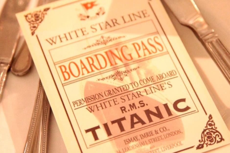 The Titanic S Incredible Menu Revealed For Every Class