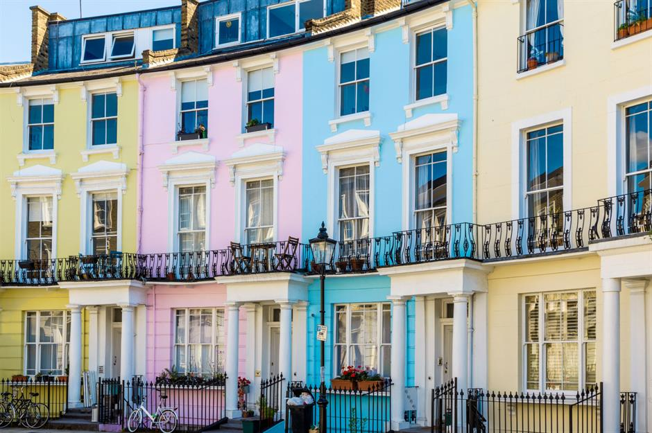 Image result for Primrose Hill Rainbow Houses