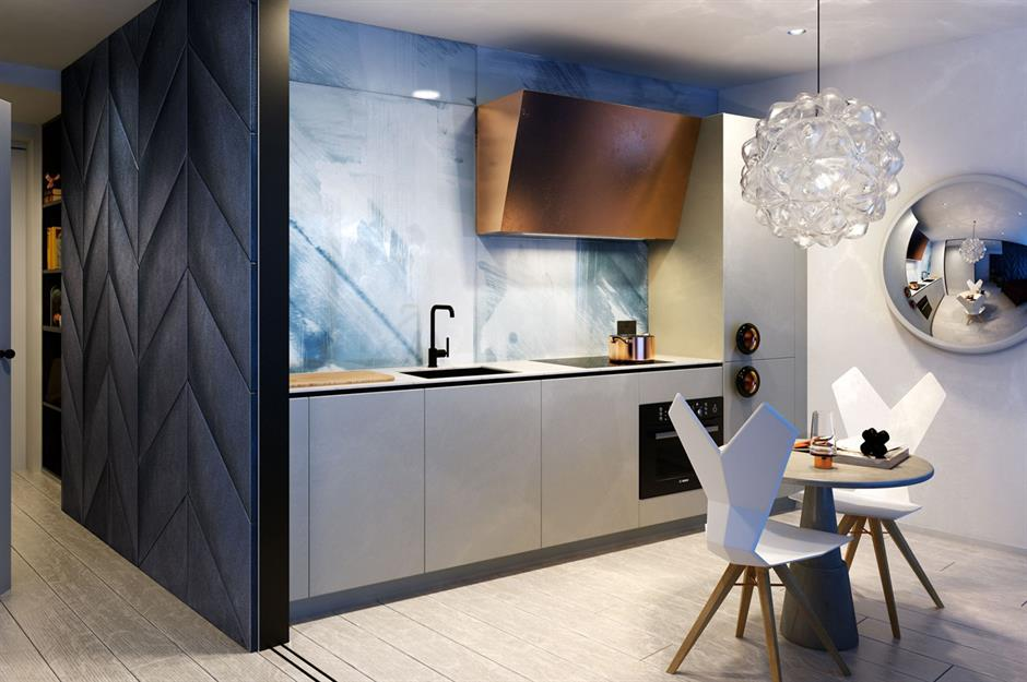 Tom Dixon Studio Apartment Greenwich London Uk