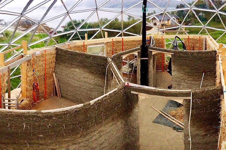 This family live for free in their self-sufficient biodome