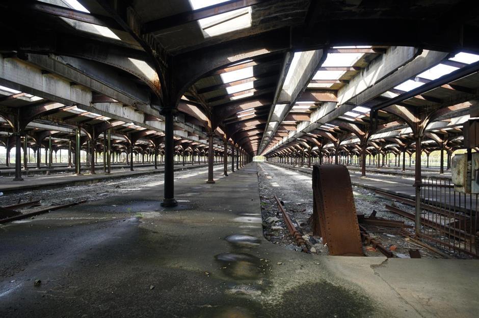 заброшенные вокзалы