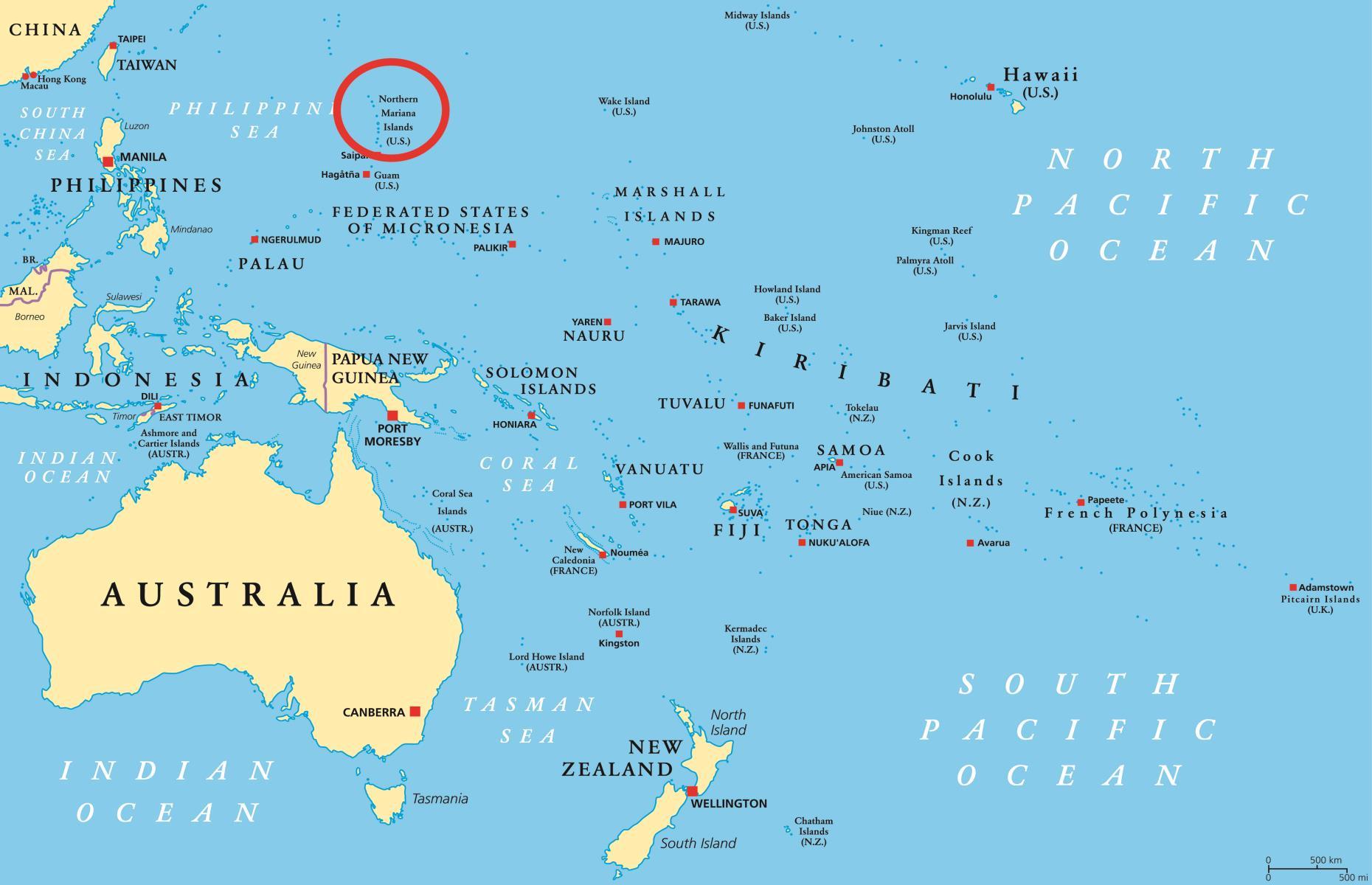 Beautiful American Samoa In World Map 2 Pics - Printable Map & Info ...