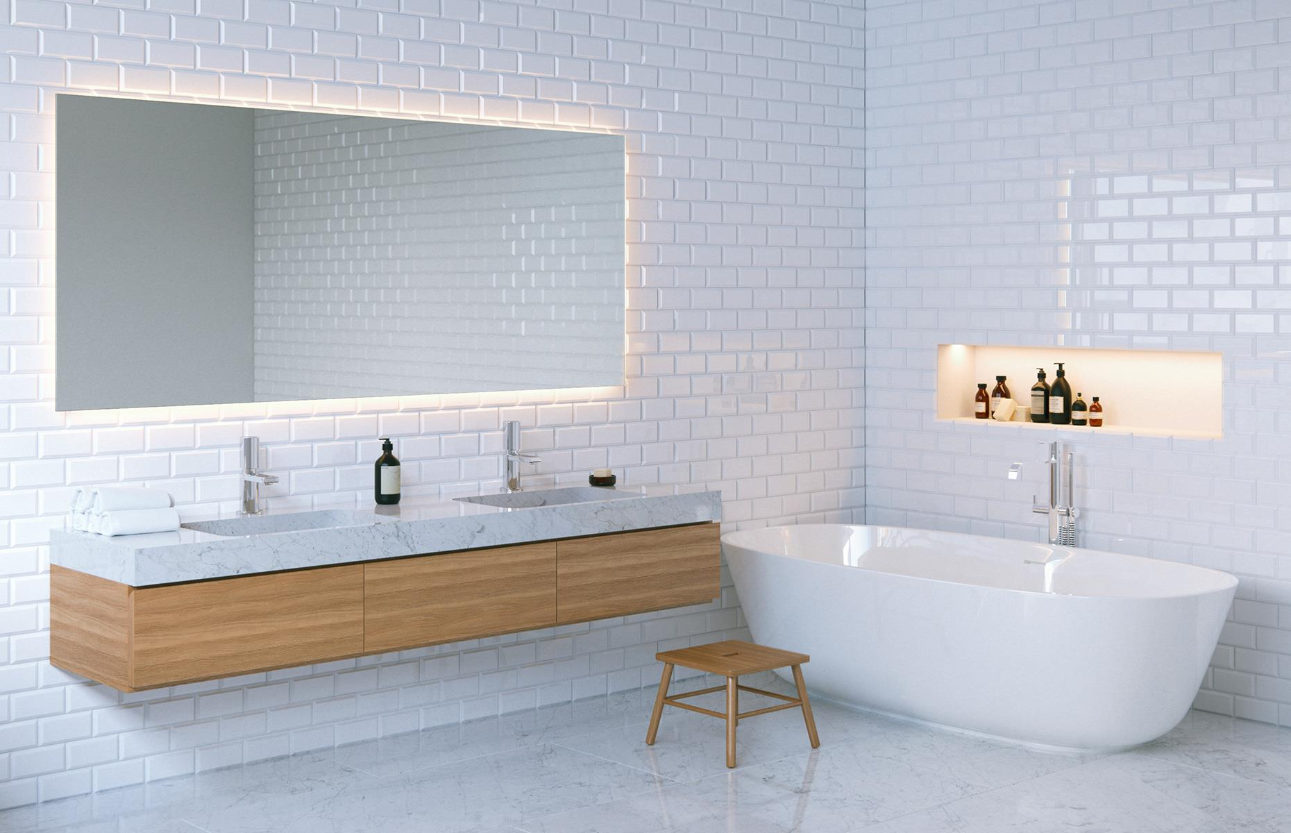 30 white bathroom ideas that are far from boring   loveproperty.com