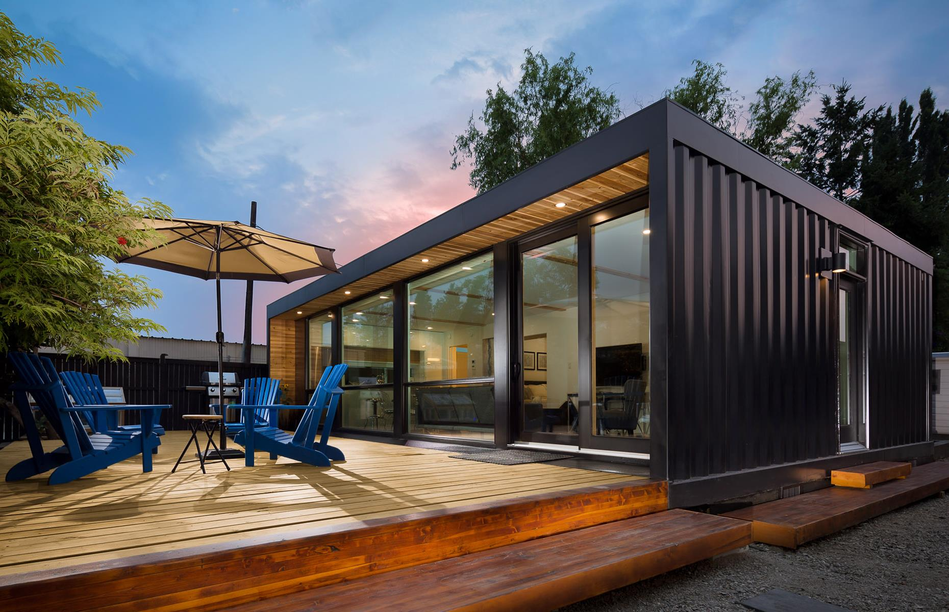 These cheap container homes cost next to nothing