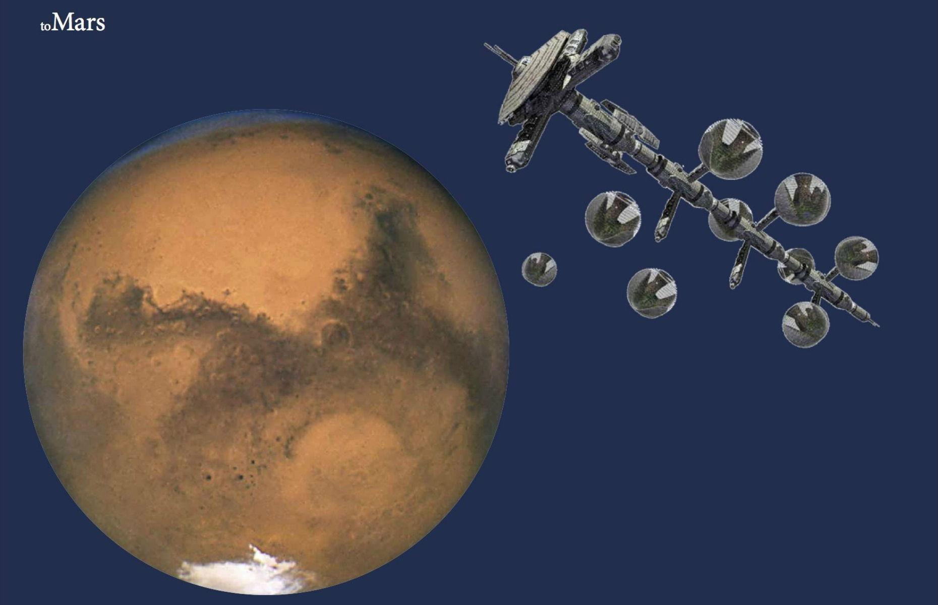 Revealed: what homes on Mars could actually look like