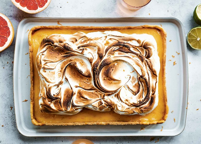 Grapefruit meringue pie recipe