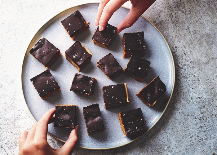 Salted peanut chocolate fudge recipe