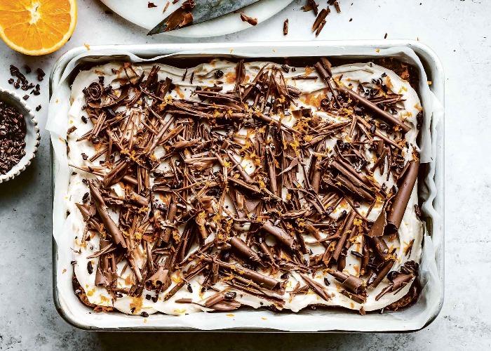 Chocolate and cardamom carrot cake recipe