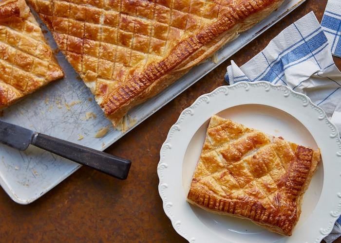 Italian ham and cheese pie recipe