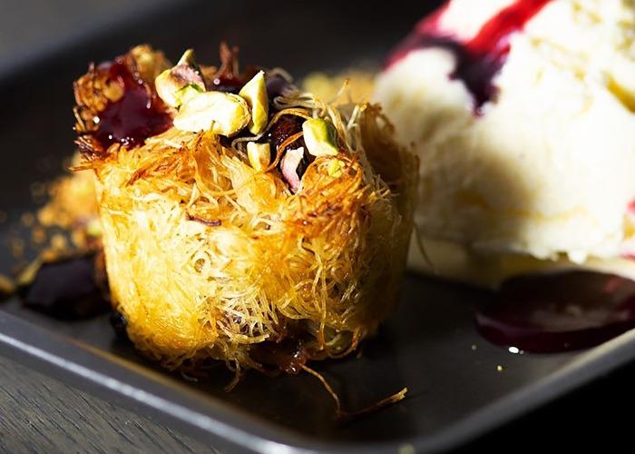 Cranberry kataifi recipe