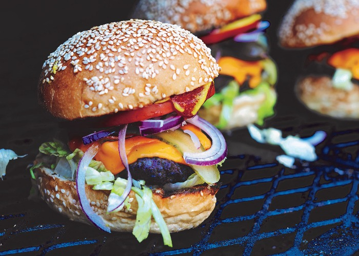Classic cheeseburger recipe