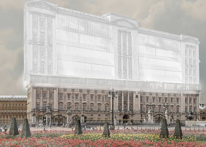 Buckingham Palace as you've never seen it before