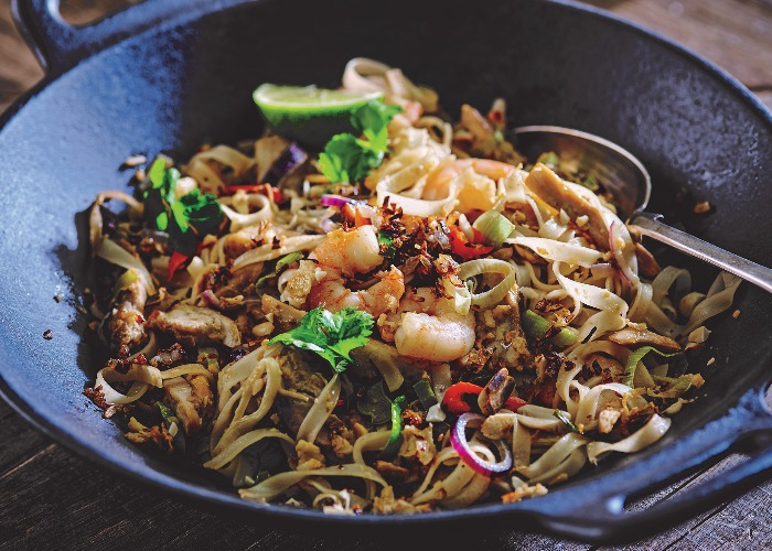 Chicken And Prawn Pad Thai Recipe