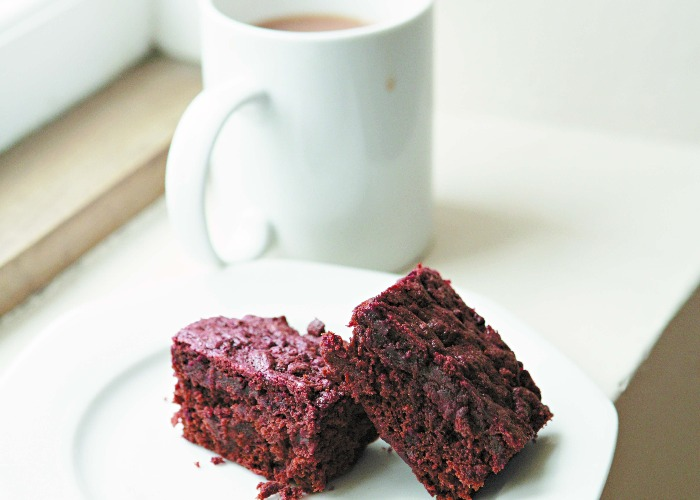Hugh Fearnley-Whittingstall's chocolate and beetroot brownies recipe
