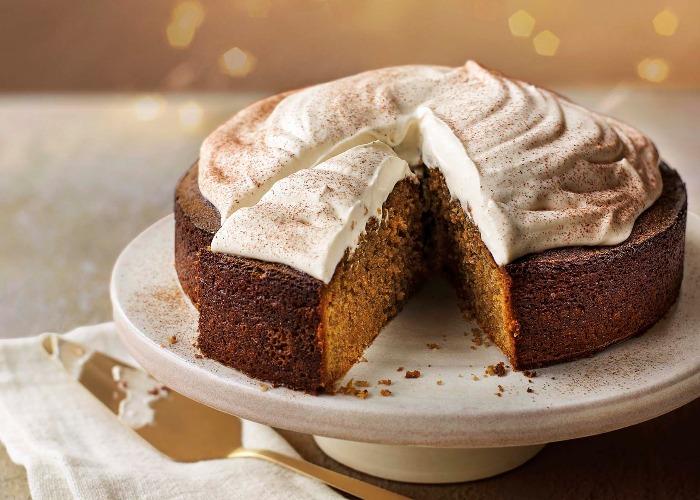 Spiced latte cake recipe