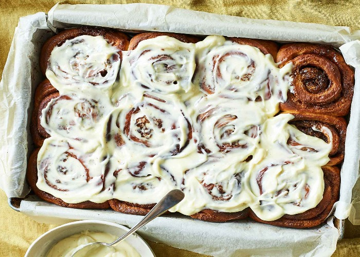 Overnight cinnamon buns recipe