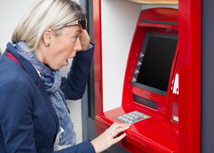 Banks can block your card when abroad (image: Shutterstock)