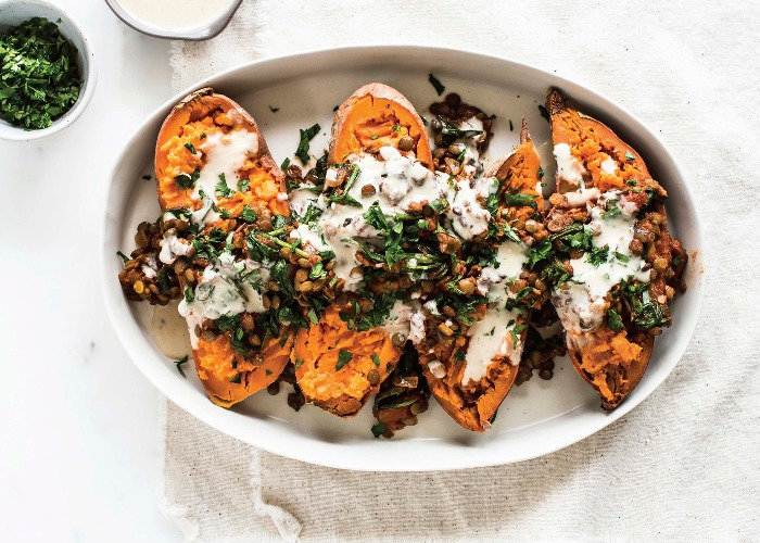 Moroccan sweet potatoes recipe