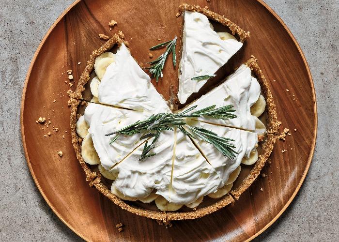 Nadiya Hussain's rosemary banoffee pie recipe
