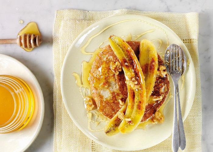 The best banana pancakes recipe