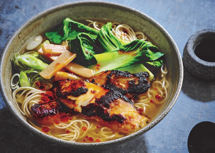 Miso Cod Ramen Recipe