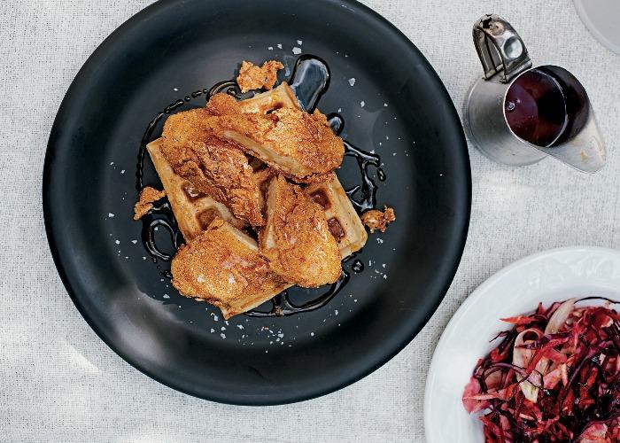 Vegan fried chicken and waffles recipe