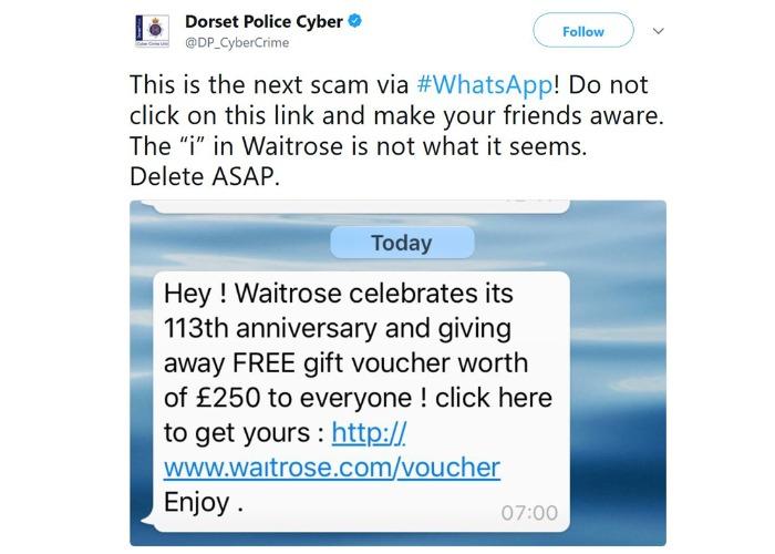 Waitrose voucher scam on WhatsApp how to tell it\u0027s fake