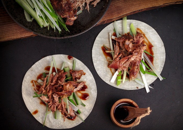Duck Pancakes With Hoisin Sauce Recipe
