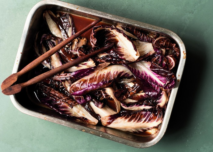 Sherry-braised radicchio recipe