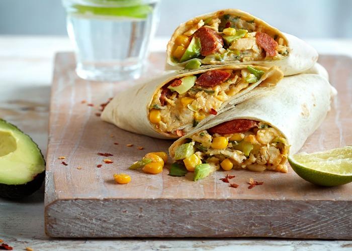 Loaded breakfast burrito recipe
