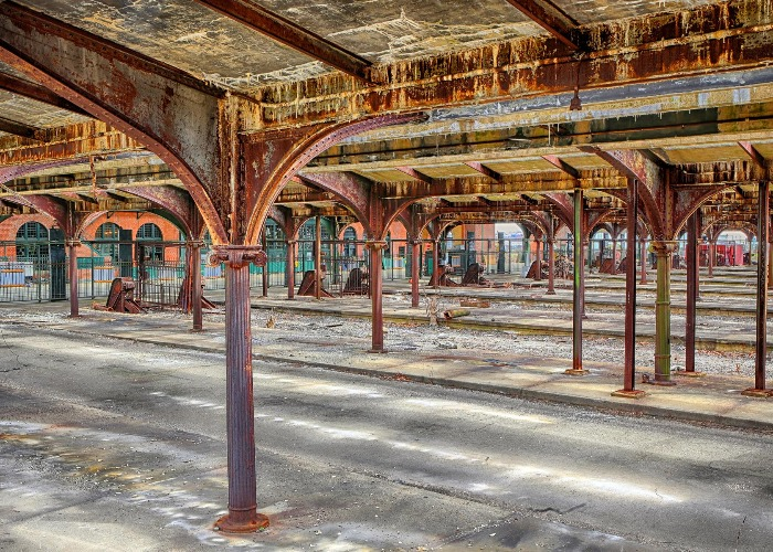 Last stop: stunning photos of abandoned train stations