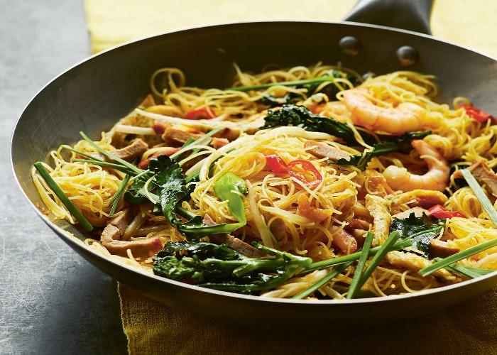 Singapore fried noodles recipe