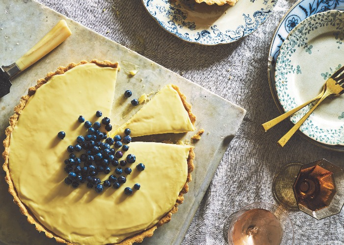 French lemon cream tart recipe