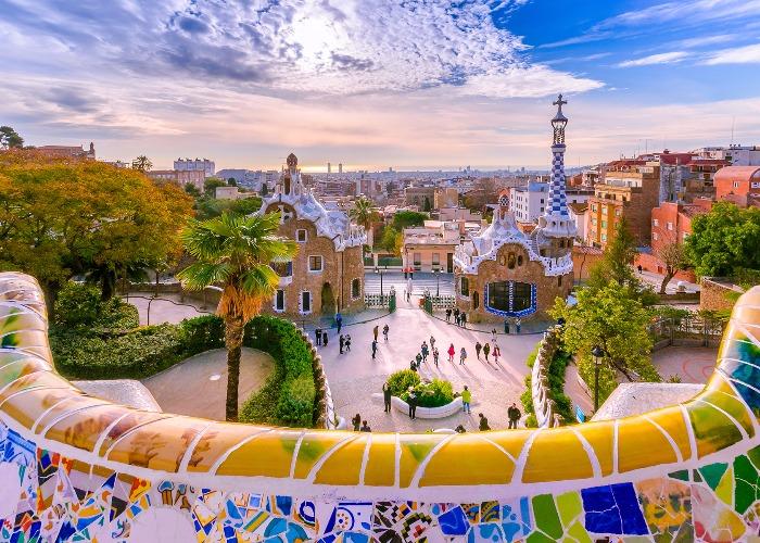 Gaudí's Park Güell in Barcelona (image: Shutterstock)