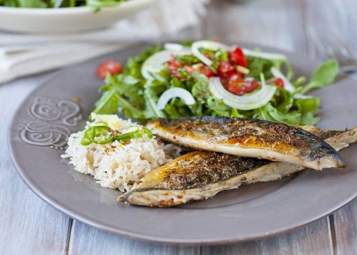 Barbecued mackerel recipe