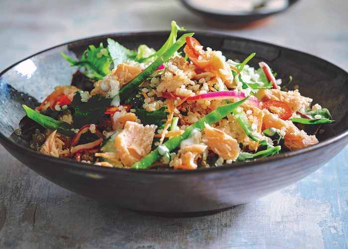 Salmon quinoa salad recipe
