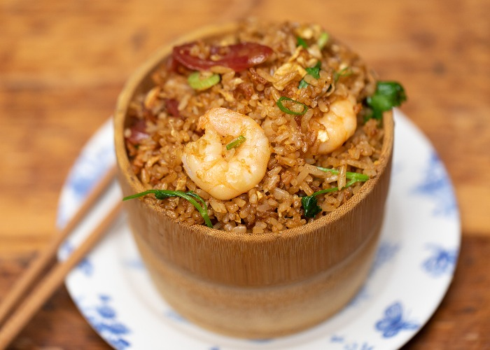Home-style egg fried rice recipe