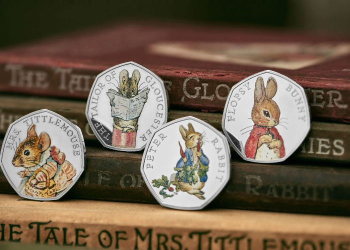 Beatrix Potter 50p Colour Coins What The New 2018