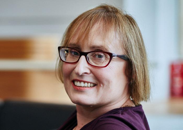 Kate Smith talks pension tax (Image: Aegon)