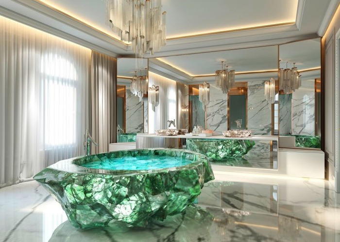 The Crystal Bathtub That Costs 1m
