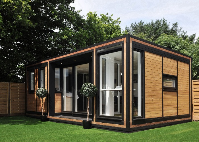 Granny flats annexes adus and garden rooms for Garage with granny flat on top