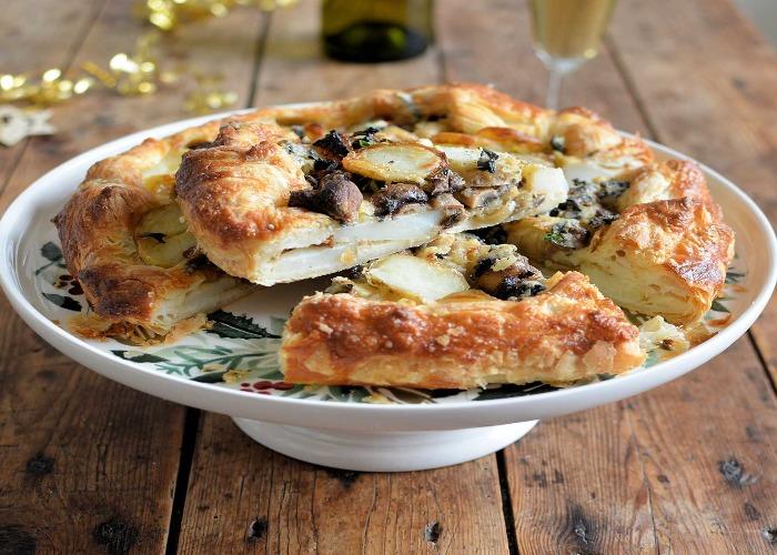 Cheese and potato galette recipe