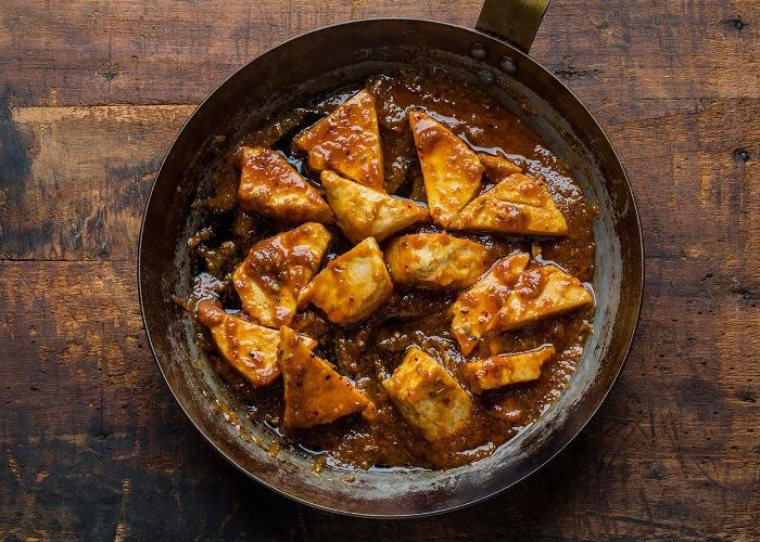 Sweet and sour tofu recipe