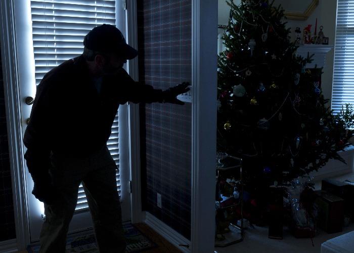 Christmas brings burglaries (Image:Shutterstock)